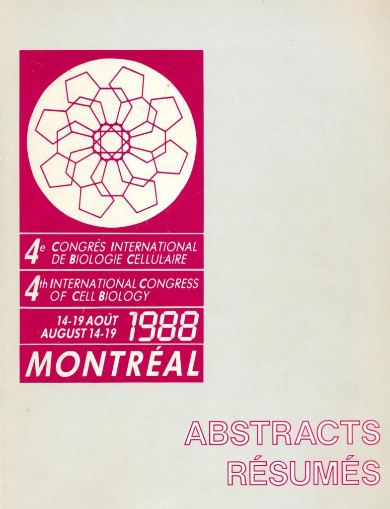 The 4th IFCB/ICCB has just been awarded to Canada , 1988in Montréal